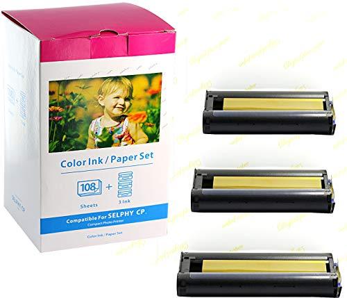 Bubprint Kompatibel Druckerkartusche + Fotopapier als Ersatz für...