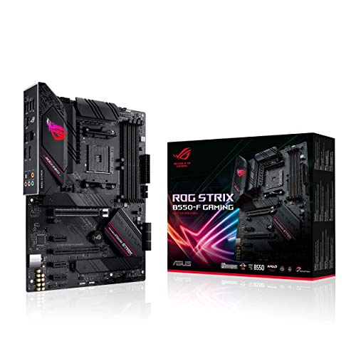 ASUS ROG Strix B550-F Gaming Mainboard Sockel AM4 (ATX, Ryzen, PCIe...
