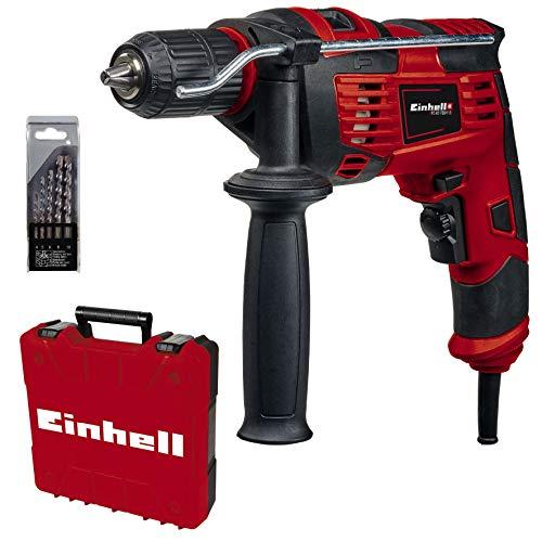 Einhell Schlagbohrmaschinen-Set TC-ID 720/1 E Kit (720 W,...