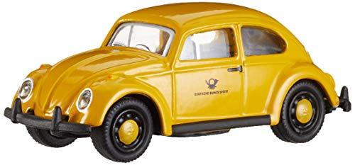 Schuco 452640300 VW Käfer DP, 1:87 452640300-VW, gelb, Modellauto,...