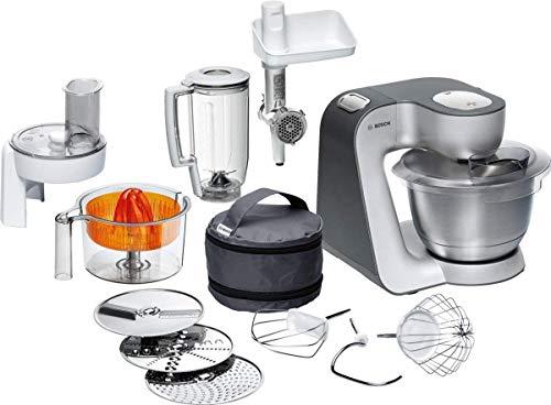 Bosch MUM5 Styline Küchenmaschine MUM56340, vielseitig einsetzbar,...