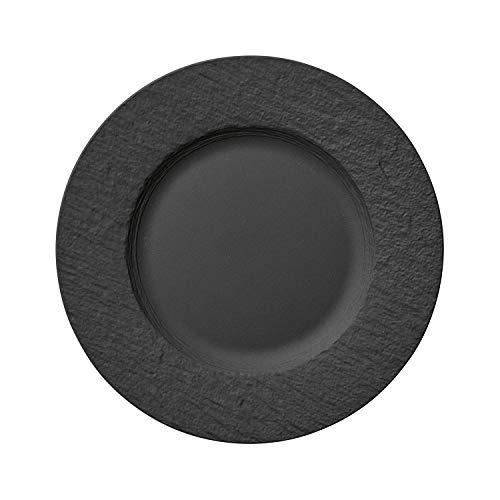 Villeroy und Boch - Manufacture Rock Speiseteller, 27 cm, Premium...
