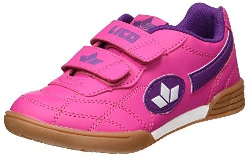 Lico Bernie V Mädchen Multisport Indoor Schuhe, Pink/ Lila/ Weiß, 32...