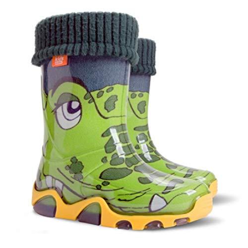 Demar Kinder Gummistiefel Krokodil Regenstiefel Kinderstiefel...