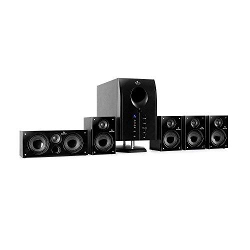 auna Areal 525 BK 5.1 Surround Sound System Heimkinosystem (125 Watt...