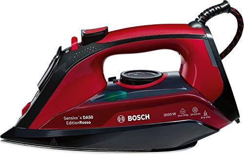 Bosch Dampfbügeleisen TDA503001P, 200g Dampfstoß, 3fach-Entkalkung,...