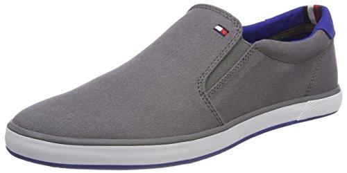 Tommy Hilfiger Herren Iconic Slip ON Sneaker, Grau (Steel Grey 039),...