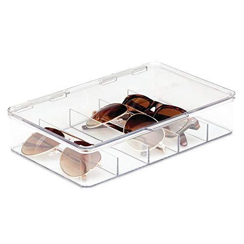 mDesign Aufbewahrungsbox für Brillen – die praktische Fächerbox...