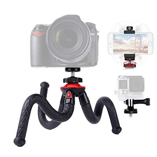Lammcou Kamera Stativ 3in1 Handy Stativ Flexibel Ministativ Leicht...