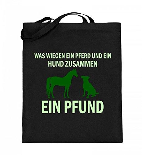 SPIRITSHIRTSHOP Was Wiegen Ein Pferd Und Ein Huns Zusammen? - Ein...