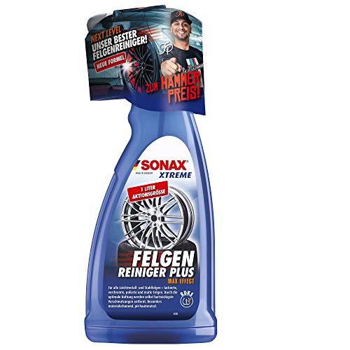 SONAX XTREME Felgenreiniger PLUS (1 Liter) effiziente und säurefreie...