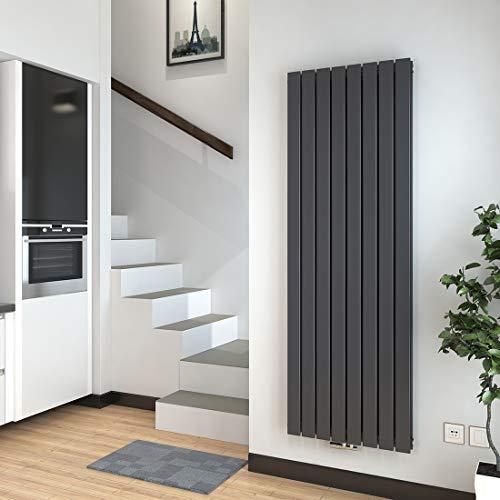 Vertikal Heizkörper Design Paneelheizkörper 1800x620mm Anthrazit...