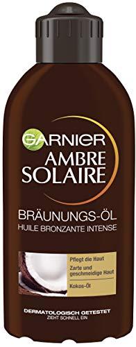 Garnier Bräunungs-Öl für Gesicht und Körper, Pflegendes Sonnen-Öl...