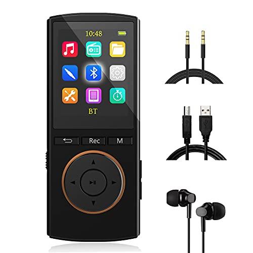 MP3 Player mit starkem Bluetooth, 32GB Sport mp3-player mit...