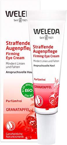 WELEDA Granatapfel Straffende Augenpflege, Naturkosmetik Augencreme...