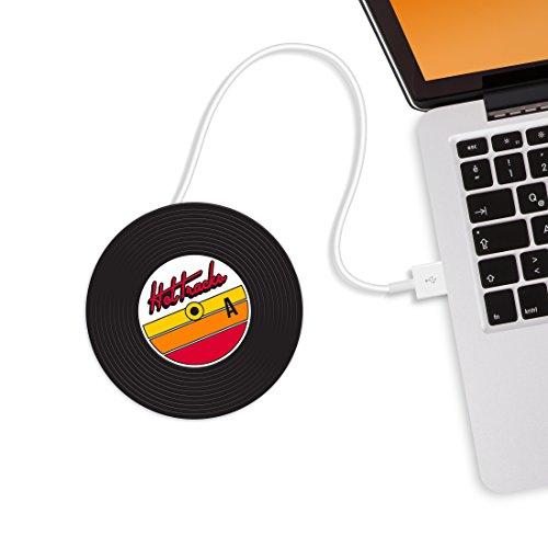 MUSTARD - Hot Tracks Cup Warmers I USB-Tassenwärmer I USB-Gadgets I...