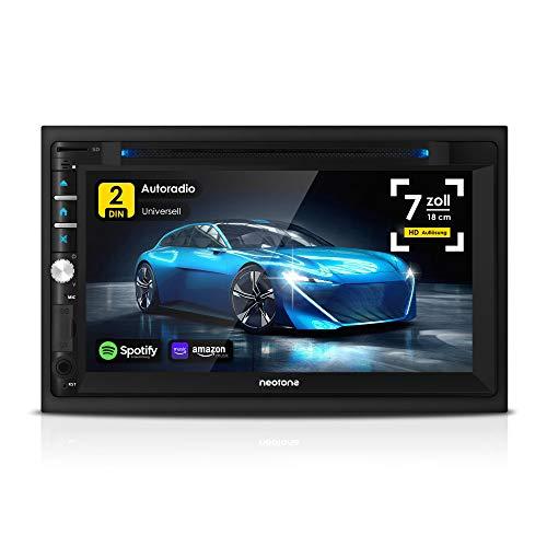 NEOTONE NDX-360A   2DIN Autoradio   Android 10.0 Q   GPS Navigation...