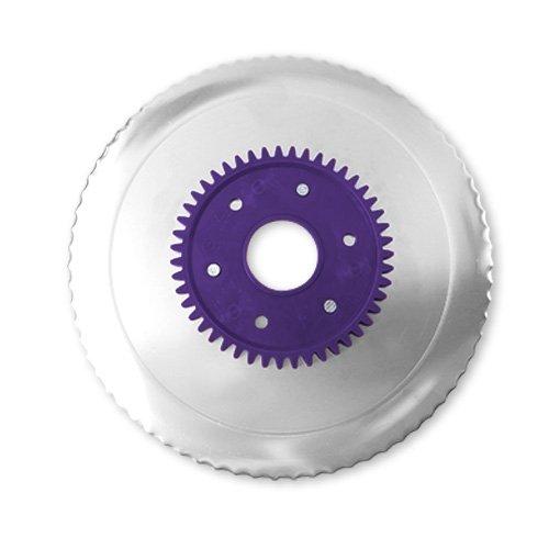 Wellenschliffmesser elektrolytisch poliert lila für RITTER...
