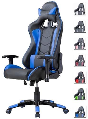 Delman Gaming Stuhl Bürostuhl Racing Stuhl Schreibtischstuhl...