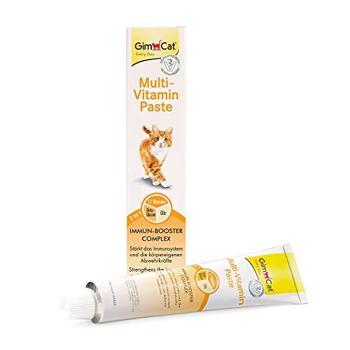 GimCat Multi-Vitamin Paste - Gesunder Katzensnack aktiviert...