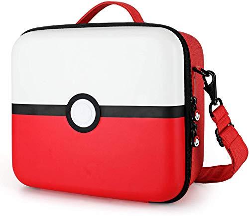 Tasche für Nintendo Switch, Tragetasche für Nintendo Switch mit 21...
