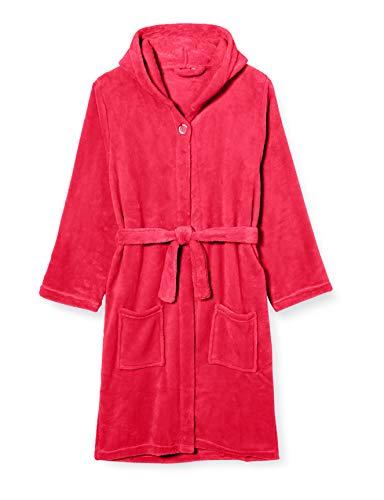 Playshoes Unisex Kinder Fleece-bademantel Uni Bademantel, Rosa (Pink...