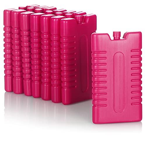 com-four® 8X Kühlakku für Kühltasche - Kühlelemente für Kühlbox...