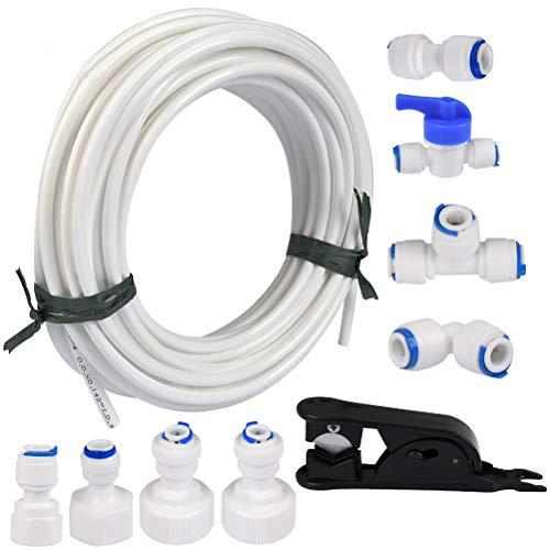 FOCCTS 15m Wasserzulaufleitung Universal Anschluss-Set für...
