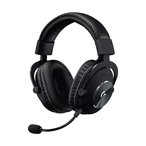 Logitech G PRO X Gaming-Headset, Over-Ear Kopfhörer mit Blue VO!CE...