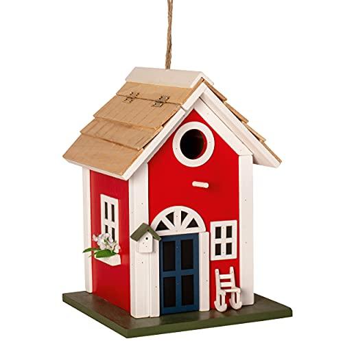 Gardigo Nistkasten Landhaus aus FSC Holz   Dekoratives Vogelhaus zum...