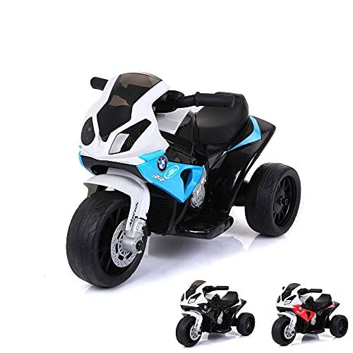 Toyas Lizenz Kinder Elektrofahrzeug Motorrad Elektro Akku Bike Dreirad...