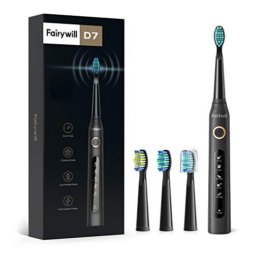 Fairywill Elektrische Zahnbürste Putzen Sie Ihre Zähne wie beim...