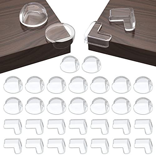 30 Stück Ecken&Kantenschutz Set(16 runde kanten+14 rechtwinklige...