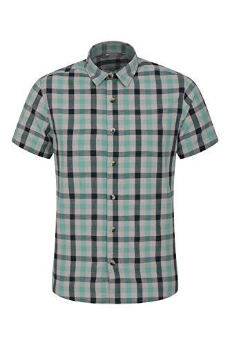 Mountain Warehouse Weekender Kurzarmhemd für Herren - Sommerhemd aus...