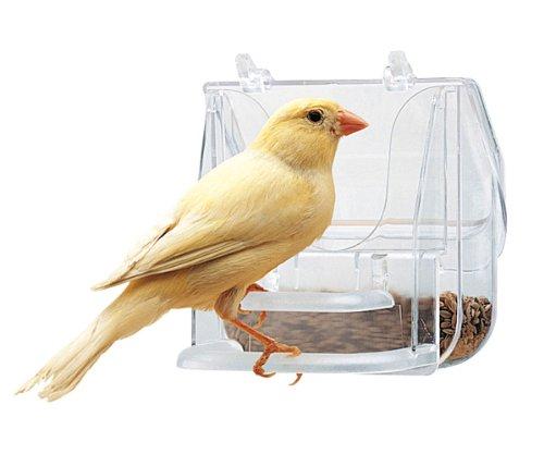Ferplast 84522724 Futternapf Pretty 4522 für Vögel, Maße: 9 x 9 x 9...
