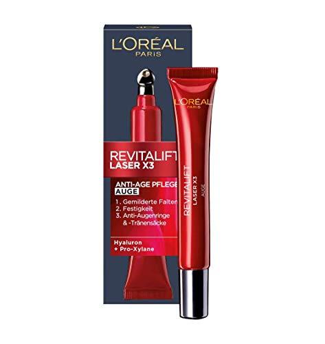L'Oréal Paris Augenpflege, Revitalift Laser X3, Anti-Aging Augencreme...