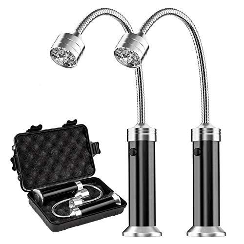 MojiDecor Grill Licht, Magnetische Grilllampe BBQ Licht Set Outdoor...