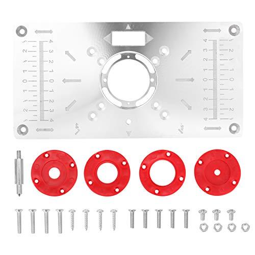 Kecheer Aluminium Fräser Tischplatte - Router Platte Oberfräse...