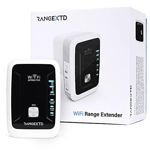 RANGEXTD WLAN Verstärker WiFi Repeater - Internet Verstärker für...