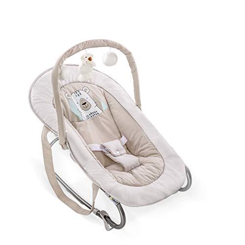 Hauck Bungee Deluxe Babywippe ab Geburt bis 9 kg mit Schaukelfunktion,...