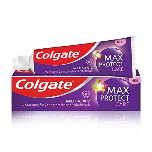 Colgate Zahnpasta Max Protect Care und Multi-Schutz, 75 ml - Zahncreme...