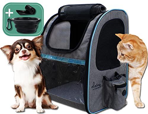 dainz® NEU! Einzigartiger Hunde-Rucksack für kleine Hunde bis ca....