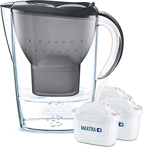 BRITA Wasserfilter Marella graphit inkl. 3 MAXTRA+ Filterkartuschen...