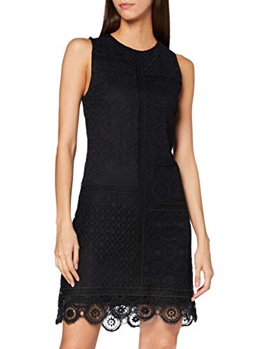 Desigual Womens Vest_Madrid Casual Dress, Black, M