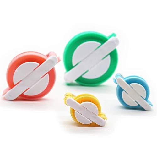 Tianhaik Pompon Maker Kit 4 Größen Manuelle Fluff Ball Weber DIY...