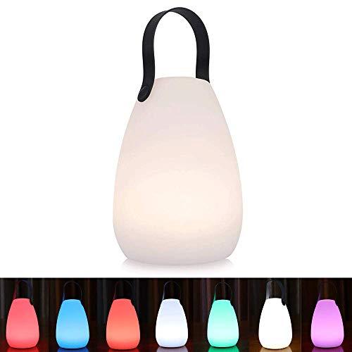 Akku Outdoor Lampe Tragbare Mehrfarbiges LED wiederaufladbare...