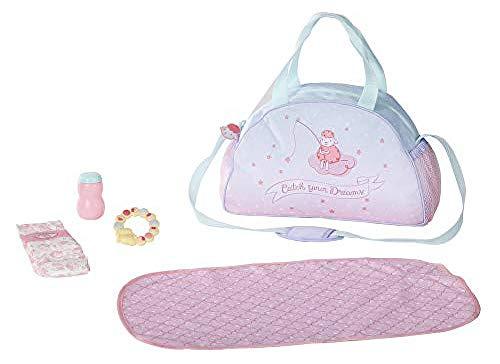 Baby Annabell 703151 Wickeltasche für 43cm Puppe - Leicht für kleine...