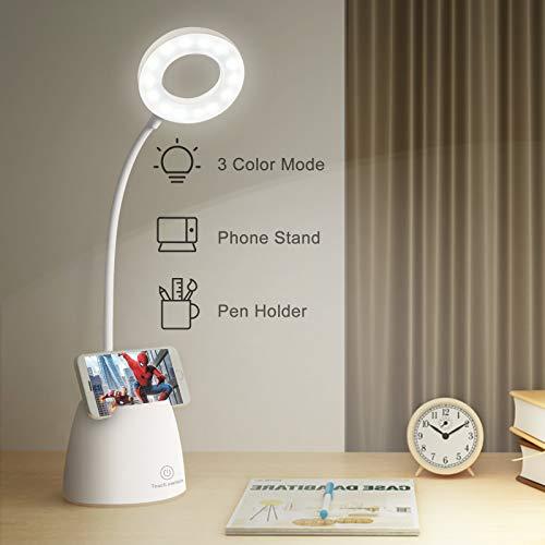 mixigoo LED Schreibtischlampe Kinder USB Wiederaufladbar Leselampe...