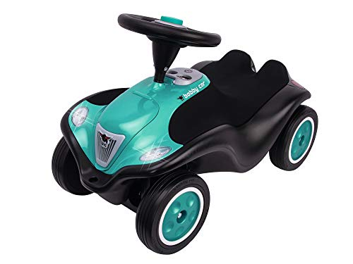 BIG-Bobby-Car Next - Deluxe Variante, Kinderfahrzeug mit LED-Front...
