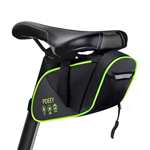 PDEEY Fahrrad Satteltasche, LED Bike Saddle Mountainbike Sattel...